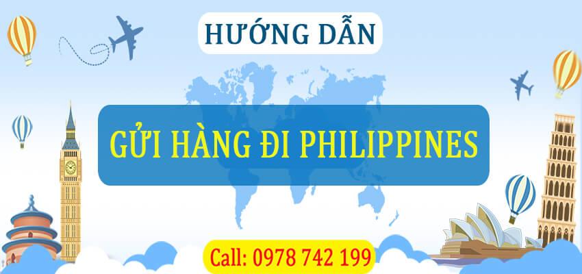 gửi hàng đi philippines