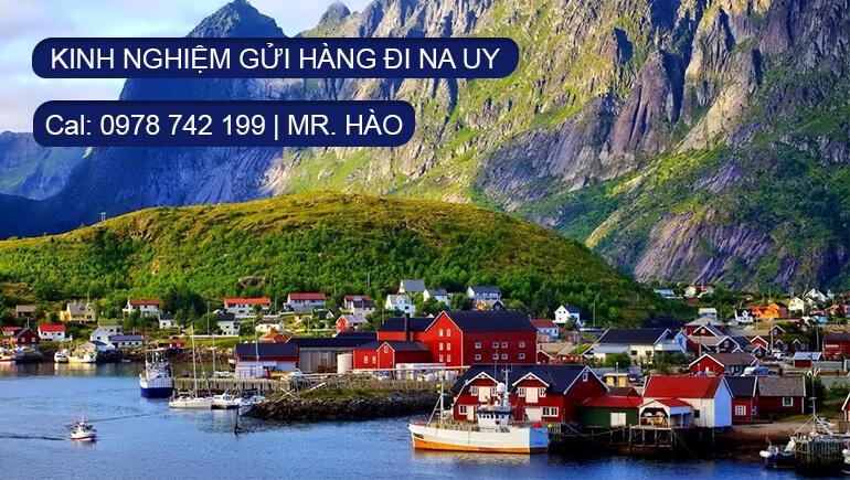 Kinh nghiệm gửi hàng đi Na Uy