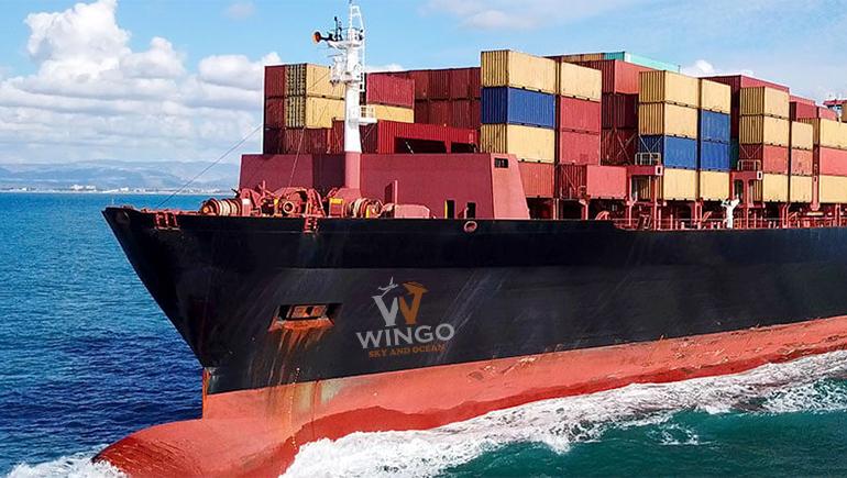 Gửi hàng đi Myanmar bằng đường biển giá rẻ tại WinGo Logistics