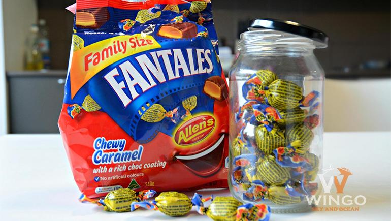 Kẹo Fantales truyền thống của Úc