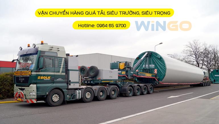 Vận chuyển hàng diêu trường, siêu trọng đi Campuchia giá rẻ tại WinGo Logistics